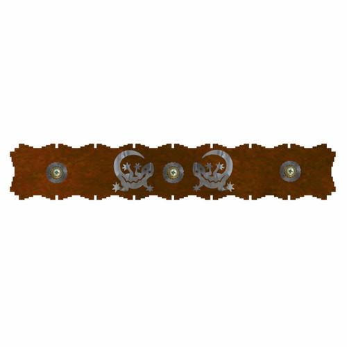 Gecko Burnished Rug Rail - 24 Inch