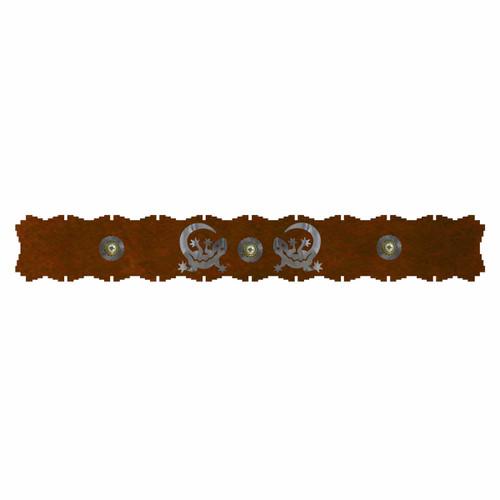 Gecko Burnished Rug Rail - 48 Inch