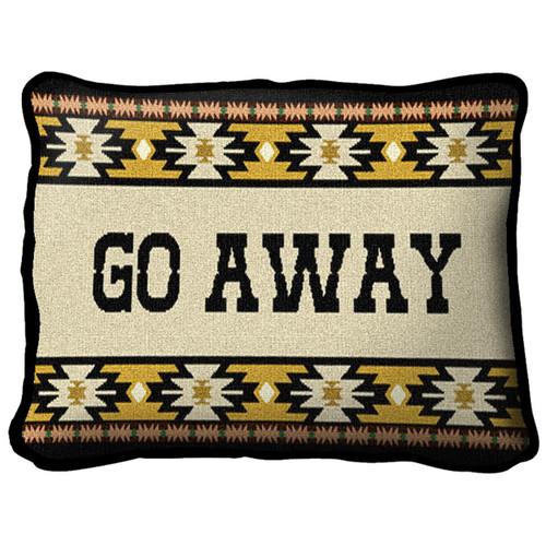 Go Away Southwest Pillow