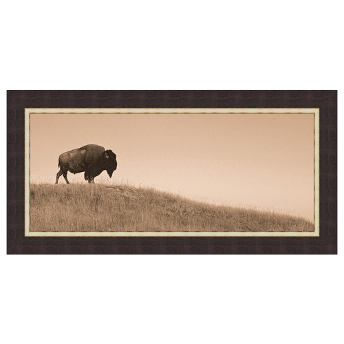 Guardian of the Plains Framed Canvas