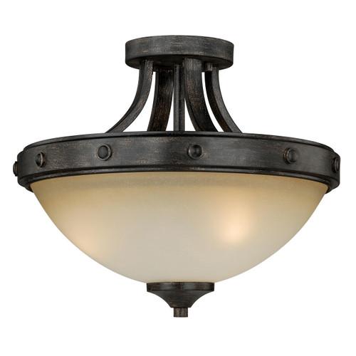 Halifax Semi-Flush Ceiling Light