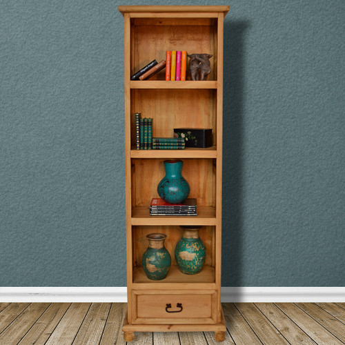 Hawkins Bookcase with One Drawer