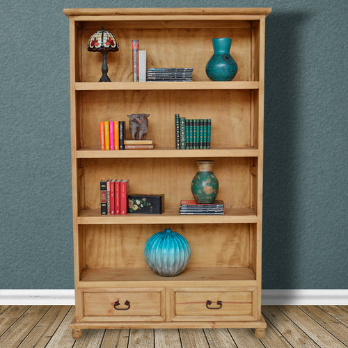 Hawkins Bookcase with Two Drawers