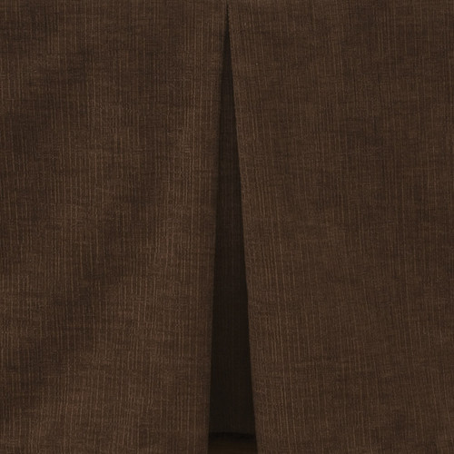 Heavenly Espresso Tailored Bedskirt - Cal King