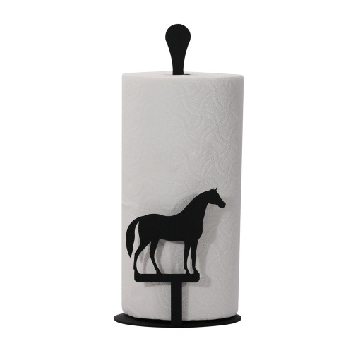Horse Paper Towel Stand