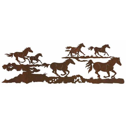 Horse Race Wall Art