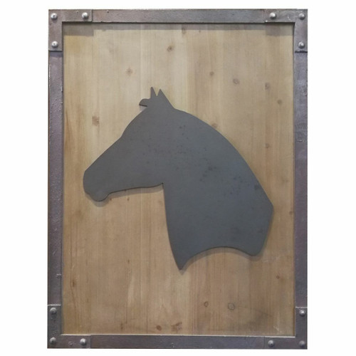 Horse Silhouette Wall Art