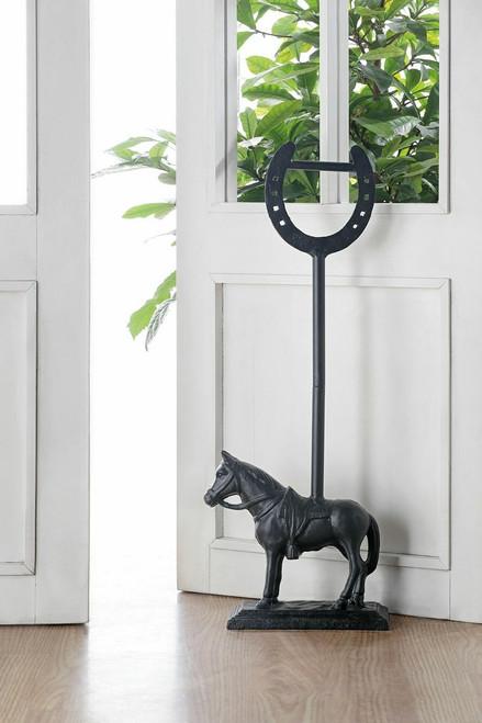 Horseshoe & Horse Doorstop
