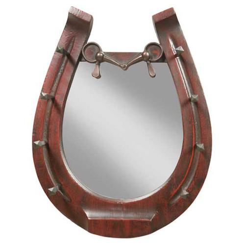 Horseshoe Mirror - Cherry