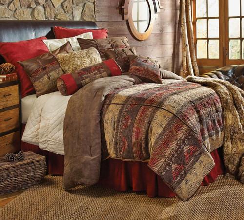 Sierra Chenille Suede Bed Set - Full