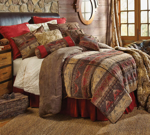 Sierra Chenille Suede Bed Set - Super King