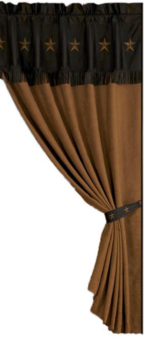 Laredo Chocolate Curtain