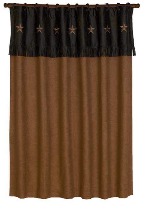 Laredo Chocolate Shower Curtain