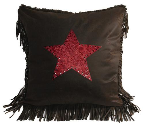 Cheyenne Red Star Pillow