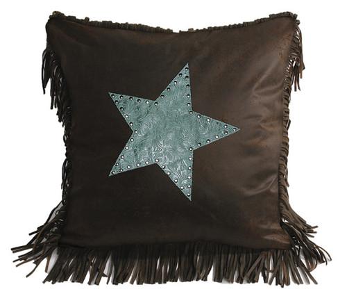 Cheyenne Turquoise Star Pillow