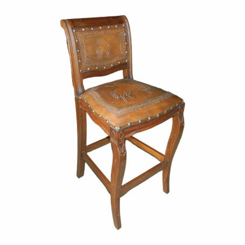 Imperial Counter Stool - Bucking Bronco & Rustic
