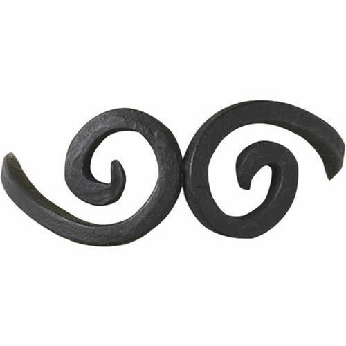 Iron Swirls Napkin Rings - Set of 4