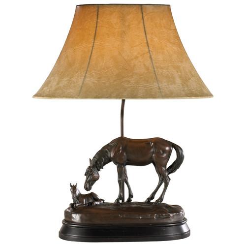 Just Resting Horse Lamp
