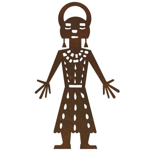 Kachina Figure 2 Wall Art