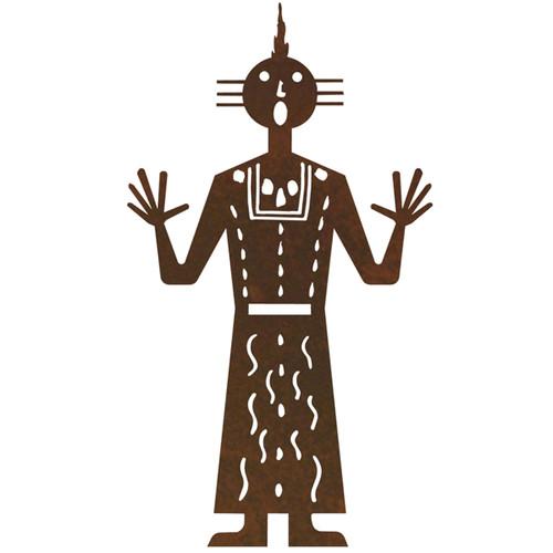 Kachina Figure 4 Wall Art