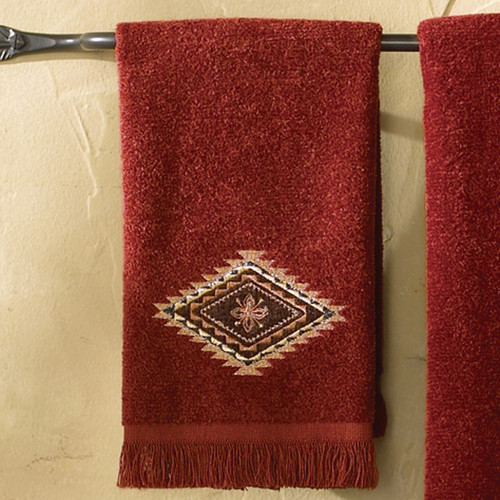 Mojave Brick Fingertip Towel