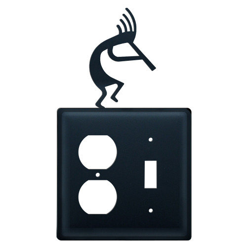 Kokopelli Single Outlet and Switch Cover