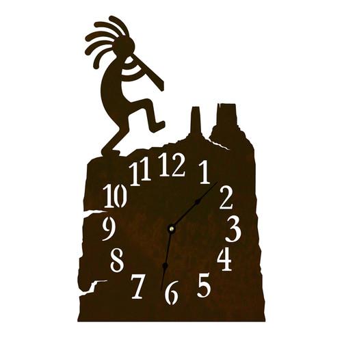 Kokopelli Table Clock