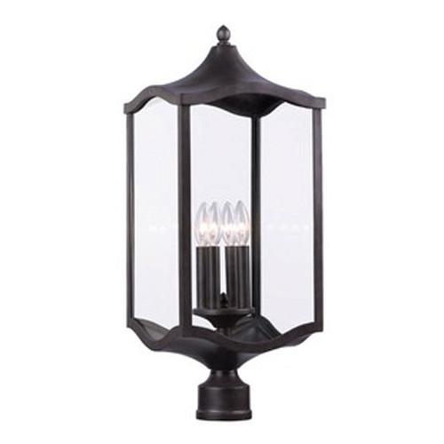 Lakewood Large Post Mount Lamp