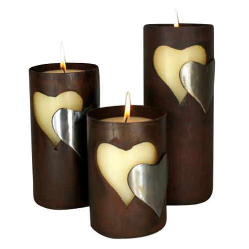 Lana Candle Holders - Set of 3