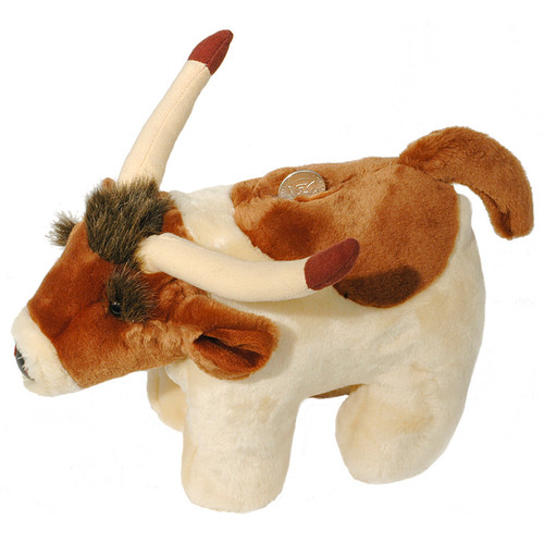 Larry the Longhorn Coin Bank