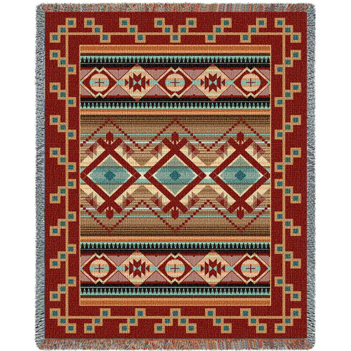 Las Cruces Chenille Blanket