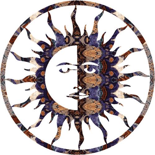 Sun Moon Wall Hanging - 24 Inch