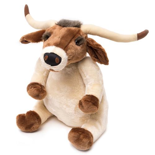 Lenny the Longhorn Stuffed Animal - Small