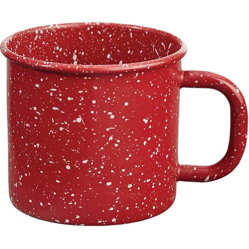 Lodge Red Mugs - Set of 4
