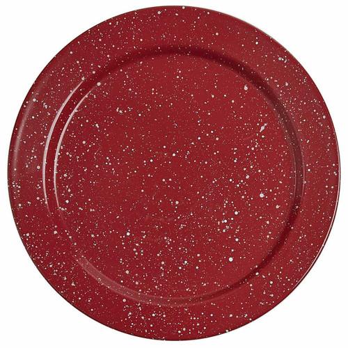 Lodge Red Salad Plates - Set of 4