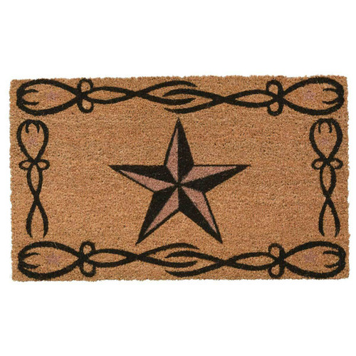 Lone Star Coir Doormat