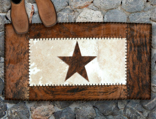 Lone Star Cowhide Rug