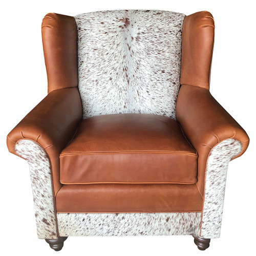 Longhorn Oversized Wingback Chair