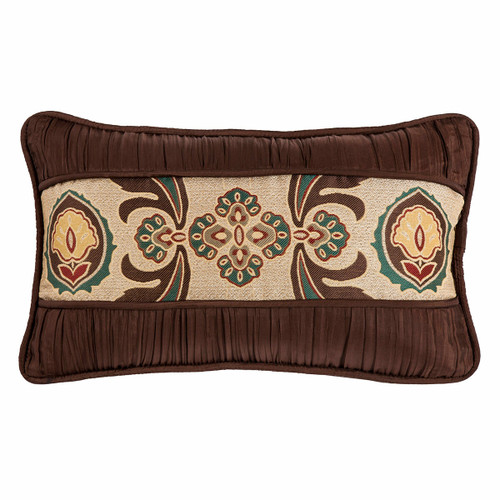 Loretta Pillow with Batiste Rouching