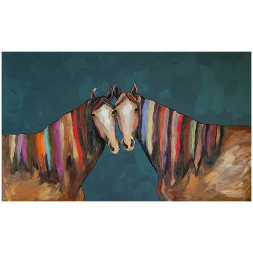 Kaleidoscope Horse Canvas Wall Art - 40 x 24