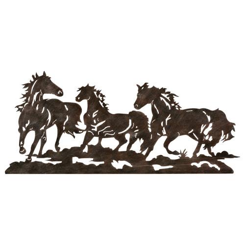 Metal Running Horse Wall Art