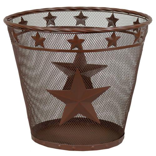 Metal Star Waste Basket