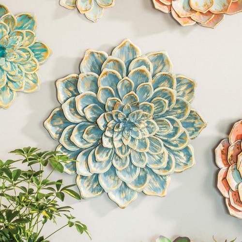 Sedona Metal Wall Flower - Large