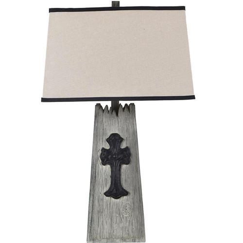 Mission Cross Table Lamp