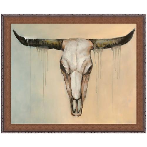 Mojave Skull Canvas Art