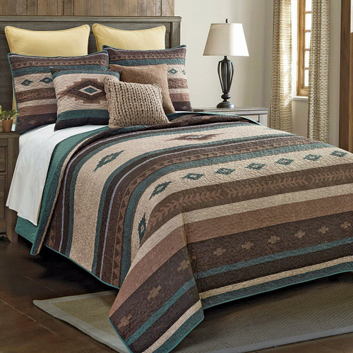 Mojave Valley Quilt Set - Queen