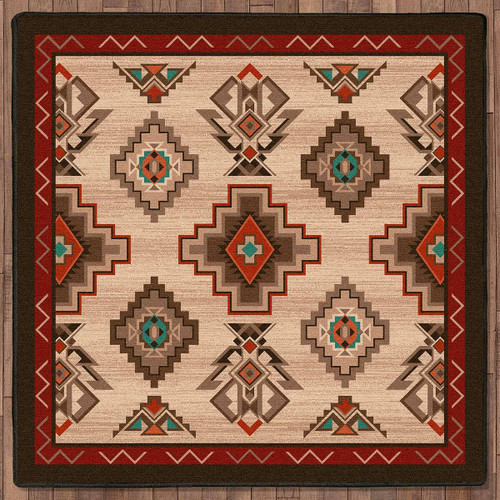 Mojave Valley Rug - 8 Ft. Square