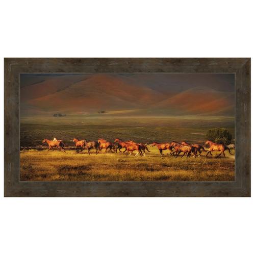 Montana Dreaming Framed Canvas