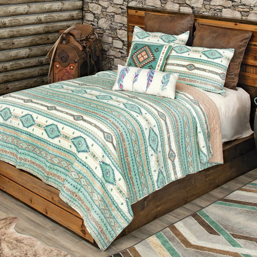 Morning Sky Quilt Set - Twin