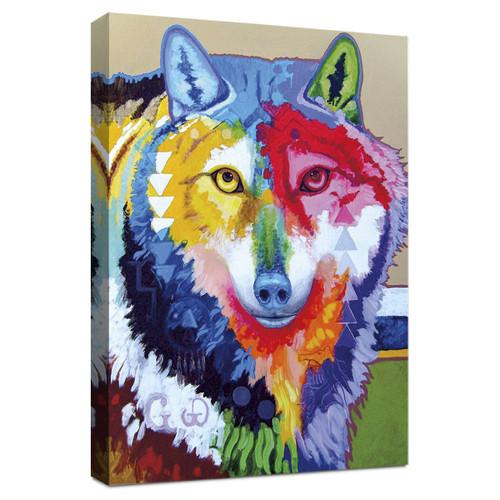 Motley Wolf Wall Art